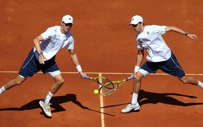 Os tenistas norte-americanos Mike e Bob Bryan  conquistaram o ouro olímpico em Londres