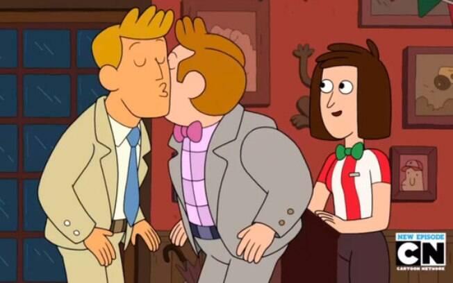 A cena em que os primeiros personagens gays do Cartoon Network, do desenho 'Clarence', se beijariam nos lábios foi trocada por um beijo no rosto