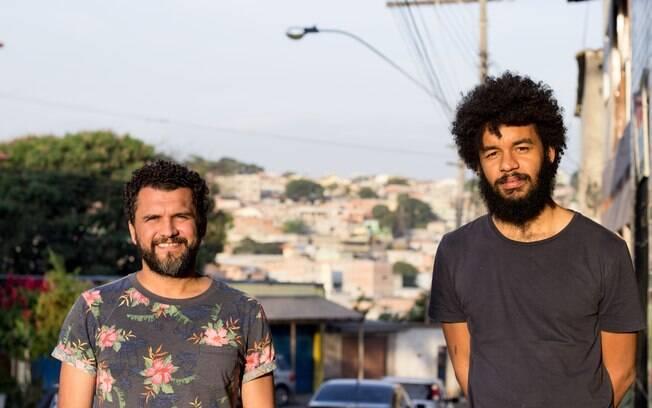 Maurílio Martins (esq) e Gabriel Martins, diretores de