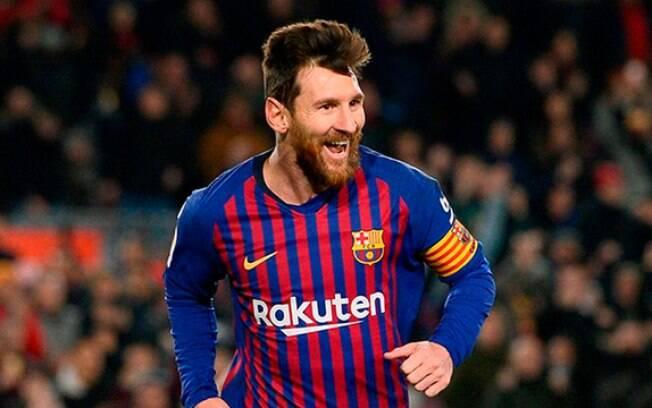 Messi é canhoto