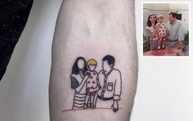 Tatuagens de Alican Gorou chamou atenção de milhares de pessoas pelo mundo, que conferem seu trabalho pelo Instagram