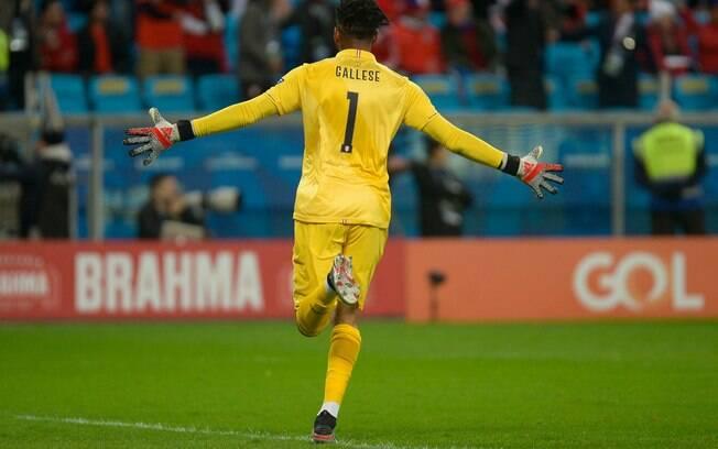 Gallese foi um dos destaques do Peru contra o Chile