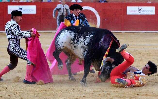 Matador morre colhido por touro na arena