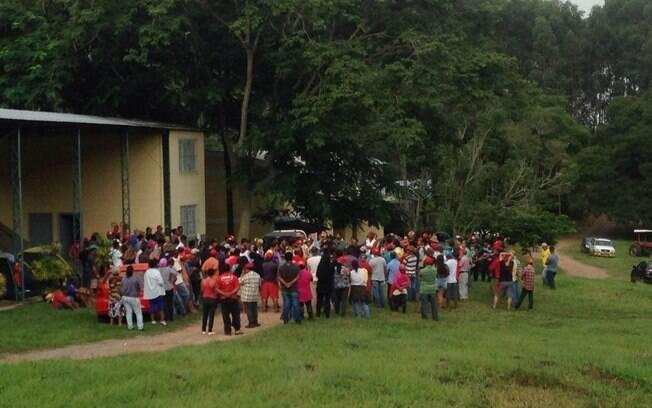Propriedade do Coronel Lima, Fazenda Esmeralda, em Duartina (SP), foi invadida pela terceira vez