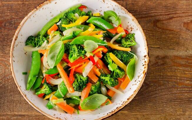 vegetais na air fryer