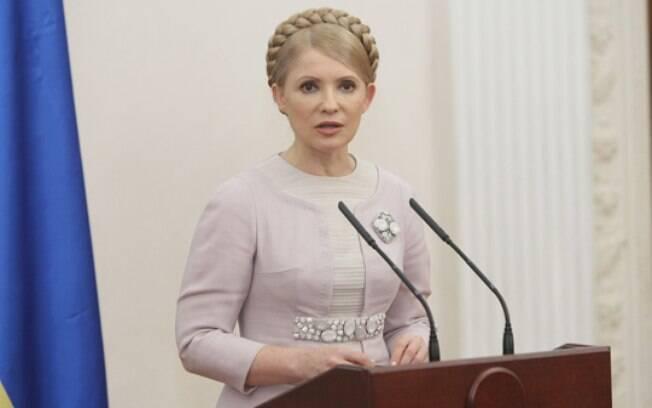 Yulia Tymoshenko em foto do ano de 2009