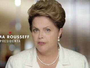 Dilma Rousseff fala de denúncia da Petrobras no horário eleitoral