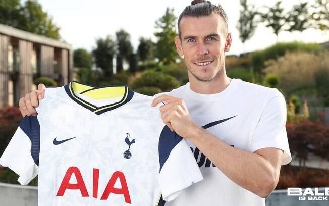 Gareth Bale foi emprestado pelo Real Madrid ao Tottenham