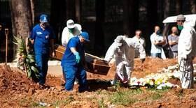 Brasil registra 2,8 mil mortes e ultrapassa 414 mil óbitos