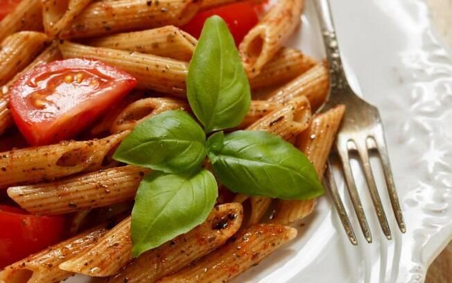 Massa integral cai bem na dieta até de quem quer emagrecer
