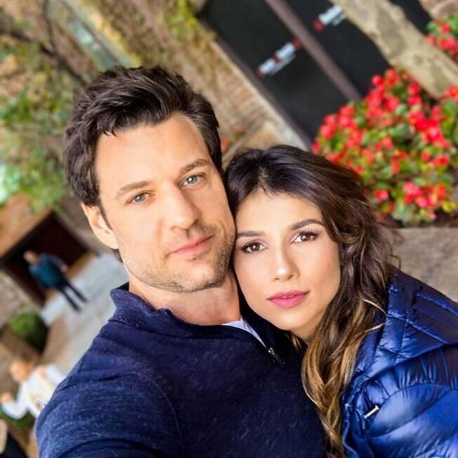 Paula Fernandes e Rony Cecconello