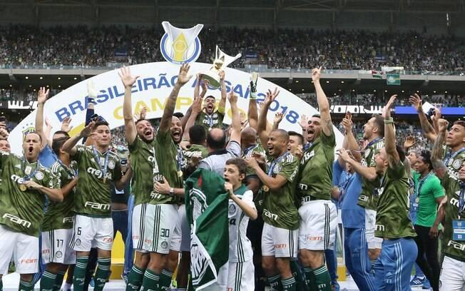 Campeão brasileiro, Palmeiras bateu recorde de arrecadação no futebol brasileiro