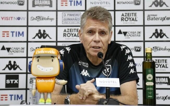 Paulo Autuori%2C técnico do Botafogo
