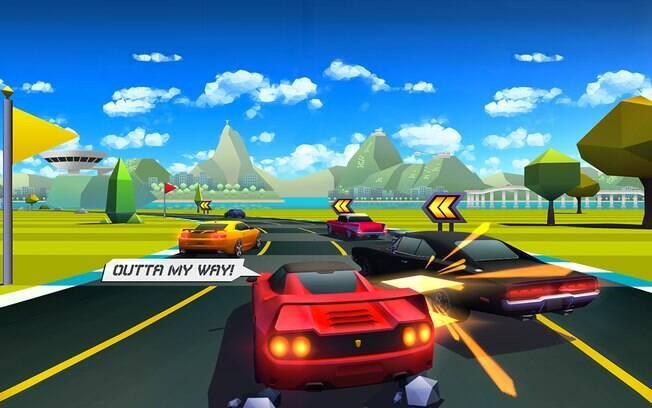 Horizon Chase - World Tour foi indicado como um dos melhores games para iOS em 2015