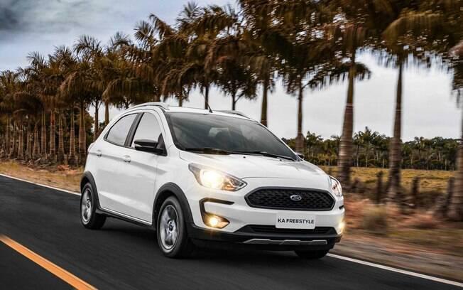 Ford Ka em segundo lugar é outra coincidência com o ranking de vendas no Brasil. Acaba de ganhar versão 1.0 FreeStyle