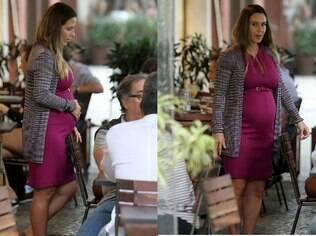 Guilhermina Guinle grávida no Rio