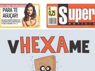 Capa do Super ganhou destaque na NBC
