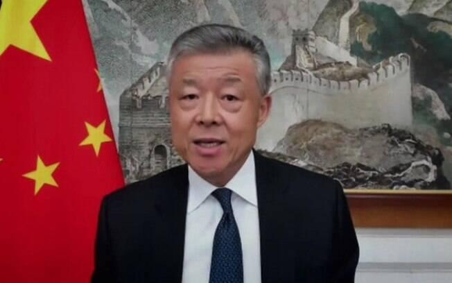 Embaixador chinês no Reino Unido, Liu Xiaoming, também defendeu ações de seu governo nos primeiros dias da pandemia
