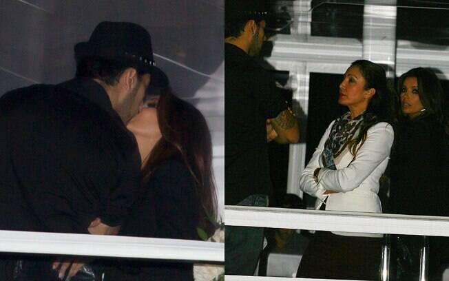 Eva Longoria passa noite romantica com namorado Eduardo Cruz em bar iate de Miami