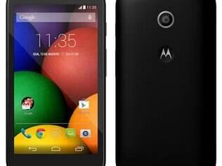 Moto E é o novo smartphone da Motorola