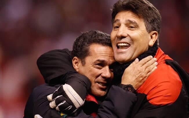 Ele foi substituído por Renato Gaúcho: mais  barato e identificado com o clube