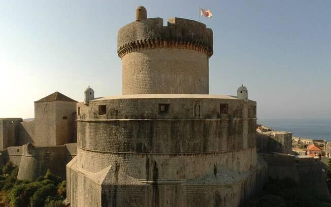 Torre de Minceta (Croácia): aqui foi filmada a Casa dos Imortais, em Qarth, onde Daenerys resgata seus dragões