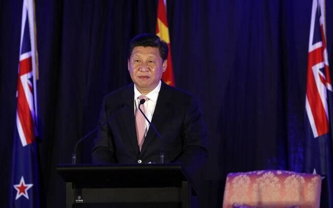 O presidente Xi Jinping: promessa de caçar corruptos de todos os escalões na China (dezembro/2014)