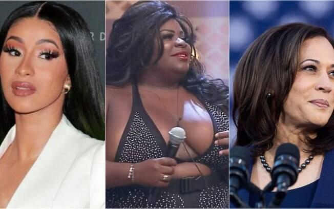 Cardi B, Jojo Todynho e Kamala Harris foram algumas das 20 escolhidas pelo iG Delas na lista de mulheres mais importantes do ano