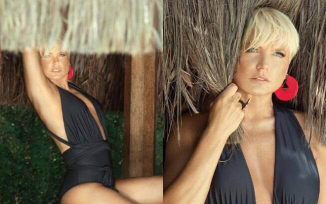 Xuxa posa sexy para as lentes dos fotógrafos Brunno Rangel e Marcelo Feitosa
