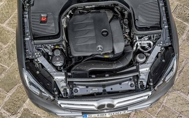 Os visitantes do Salão de Genebra 2019 verão de perto as motorizações do SUV da Mercedes