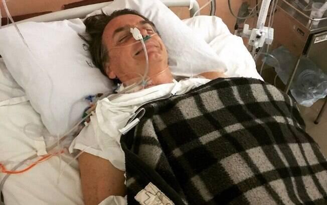 Candidato Jair Bolsonaro (PSL) teve alta da UTI do Hospital Albert Einstein nessa terça-feira (11)