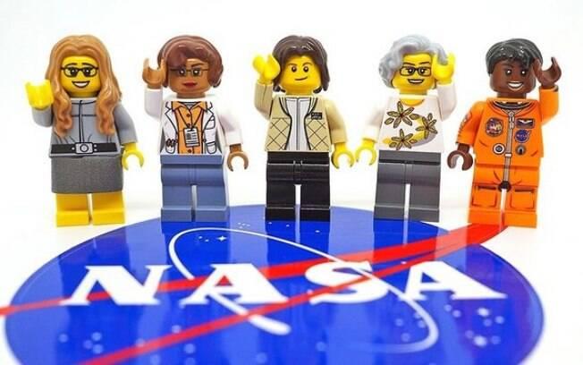 Katherine Johnson, Margaret Hamilton, Sally Ride, Nancy Grace Roman e Mae Jemison foram cientistas da Nasa