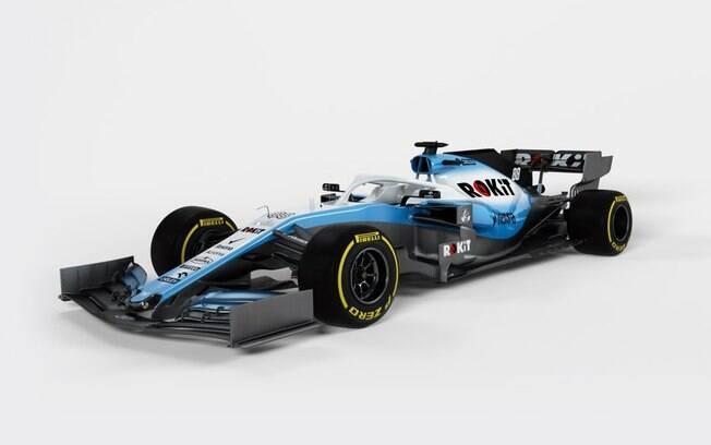 Carro da Williams para a temporada 2019 da Fórmula 1