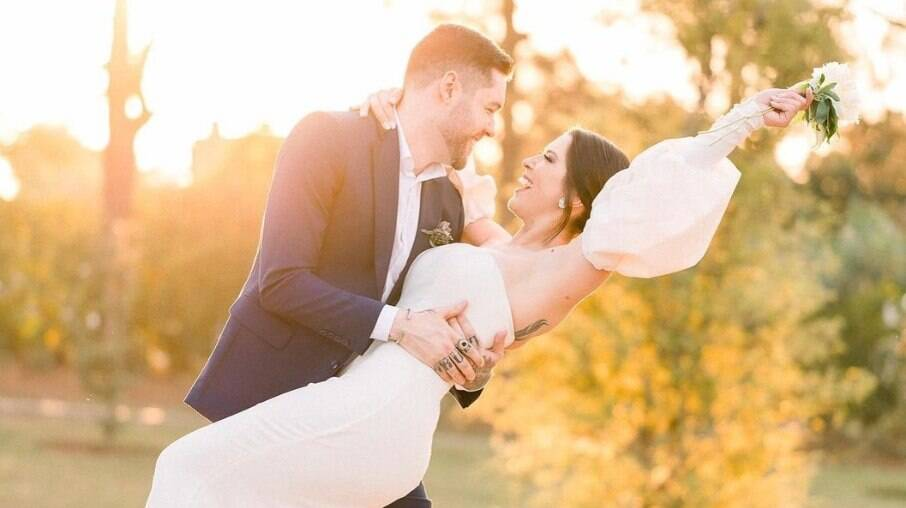 Andressa e Nassar, ex-bbbs, se casam