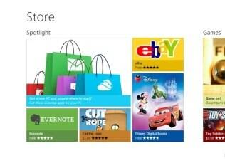 Interface da Windows Store é baseada no Windows 8