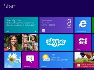 Windows 8: visual completamente remodelado