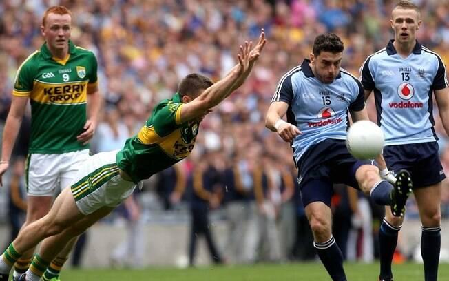 Futebol gaélico, esporte nativo da Irlanda