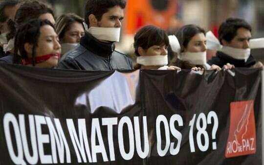 'Chacinas revelam anestesia moral', diz sociólogo - Brasil - iG