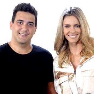 André Marques e Fernanda Lima: apresentadores de SuperStar