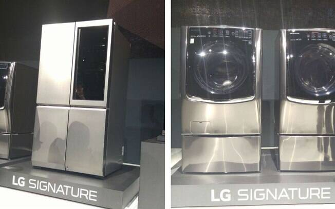 Empresa também lançou produtos para a casa, como geladeiras e máquinas de lavar