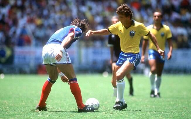 Zico em 1986