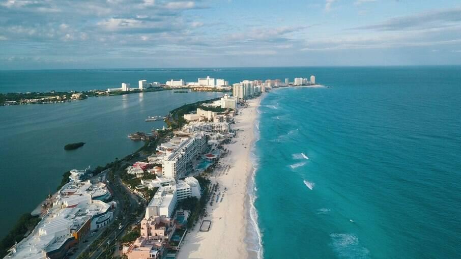 Cancún é repleto de praias