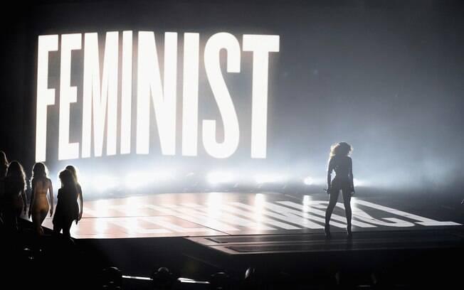 A cantora Beyoncé durante apresentação no VMA em 2014