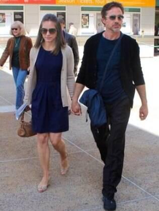 Robert Downey Jr e a mulher, Susan Levin