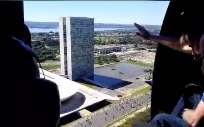 Bolsonaro helicóptero