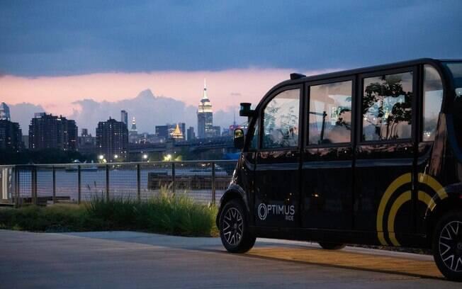 Frota de carros sem motorista começará a rodar em Nova York.