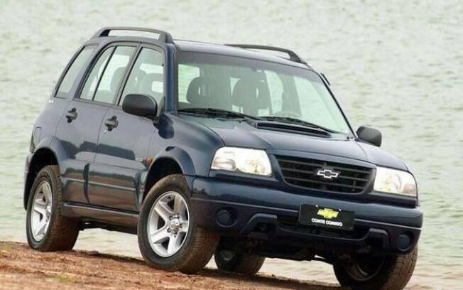 A parceria com a Suzuki também rendeu frutos ao aventureiro Chevrolet Tracker entre os carros irmãos