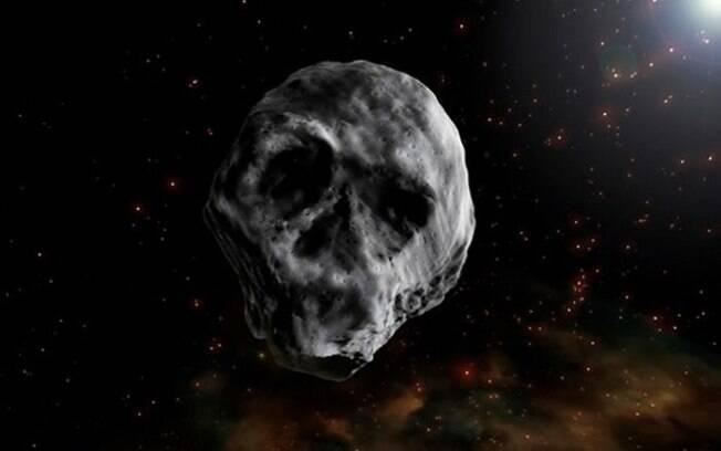 Com formato de caveira, este asteroide chamou a atenção de cientistas em 2015. Agora, em 2018, ele voltará a