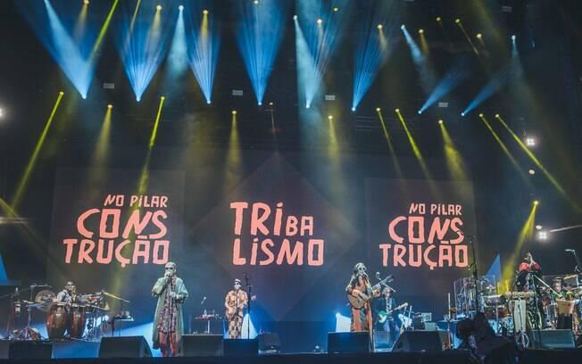 Tribalistas se apresentam no Lollapalooza 2019