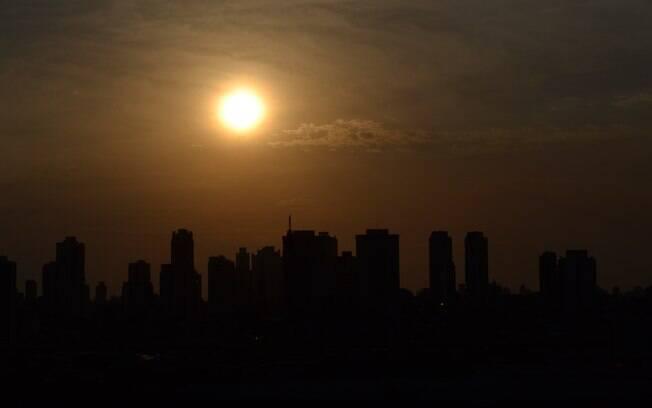 Previsão do tempo desta terça-feira é de sol durante a manhã e tarde